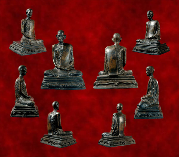 Phra Bucha LuangPhor Phrom Roon Raek(1st batch) ( 89 pieces only) Wat Chongkae 2511 (Nakon Sawan)<font color=red>(SOLD)