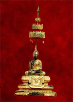 Phra Bucha MaiGae (Woodcraving) (Ayuthaya period)<font color=red>(SOLD)