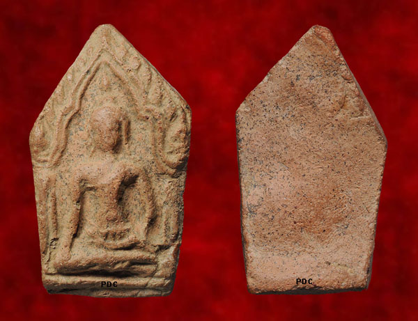 Phra Khunphaen Kru Wat BanKrang Phim Haliam Odd Lek (Pentagon small chest mould) (Suphanburi)<font color=red>(SOLD)</font>