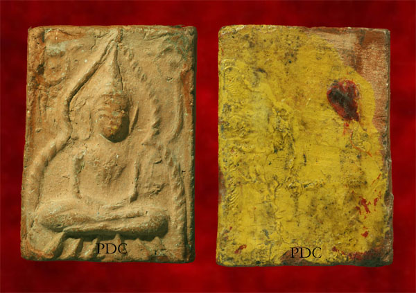 Phra khunPhaen Nar Khaai LuangPhor Nong Phim Mi Bua Niyom(Popular mould with lotus) Wat Klong Madone (Suphanburi)<font color=red>(SOLD)
