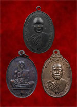 .Top Three Medal of LuangPhor Koon Wat Banrai (Nakonratchasima)<font color=red>(SOLD)